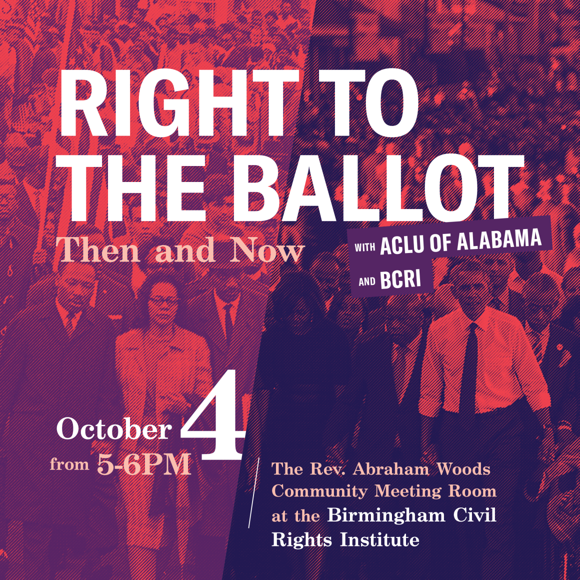right to the ballot flyer