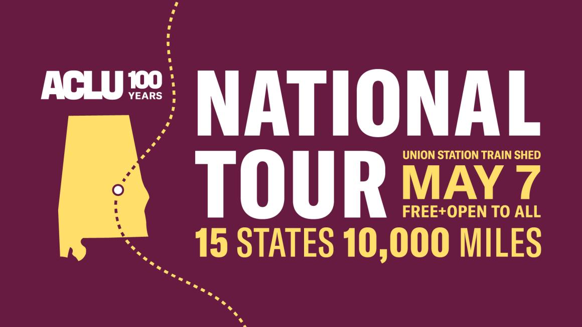 national tour alabama graphic