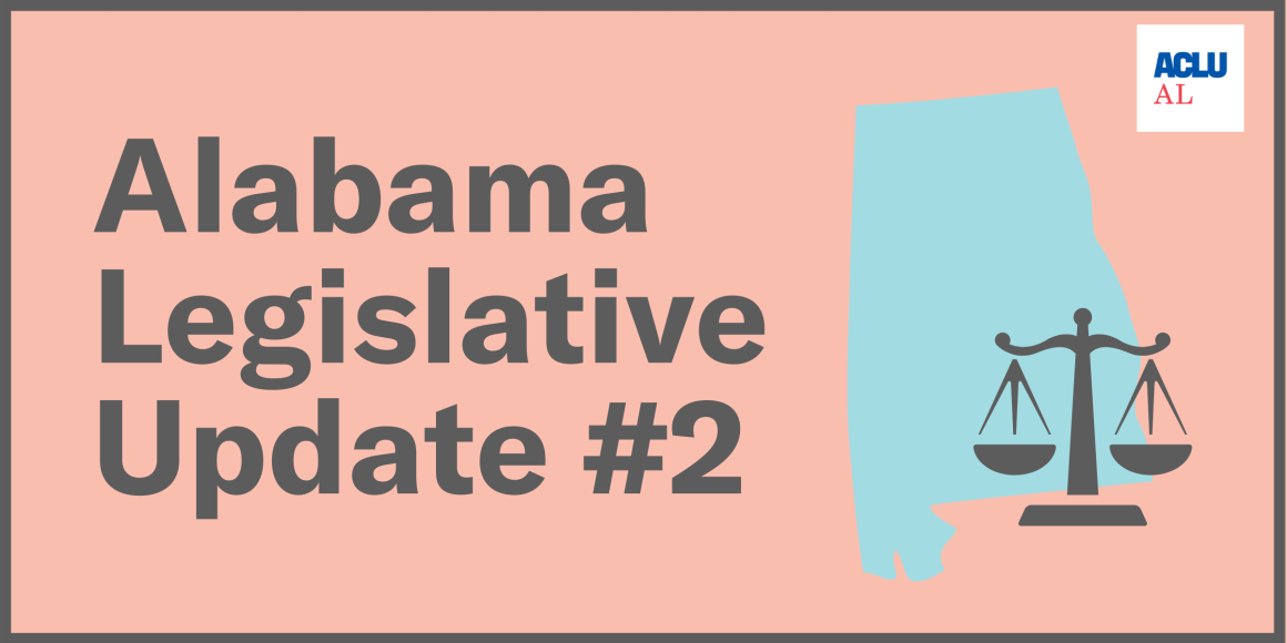Alabama Legislative Update #2