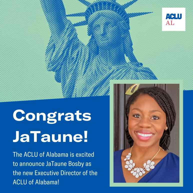JaTaune Bosby is named new Executive Director of ACLU of Alabama