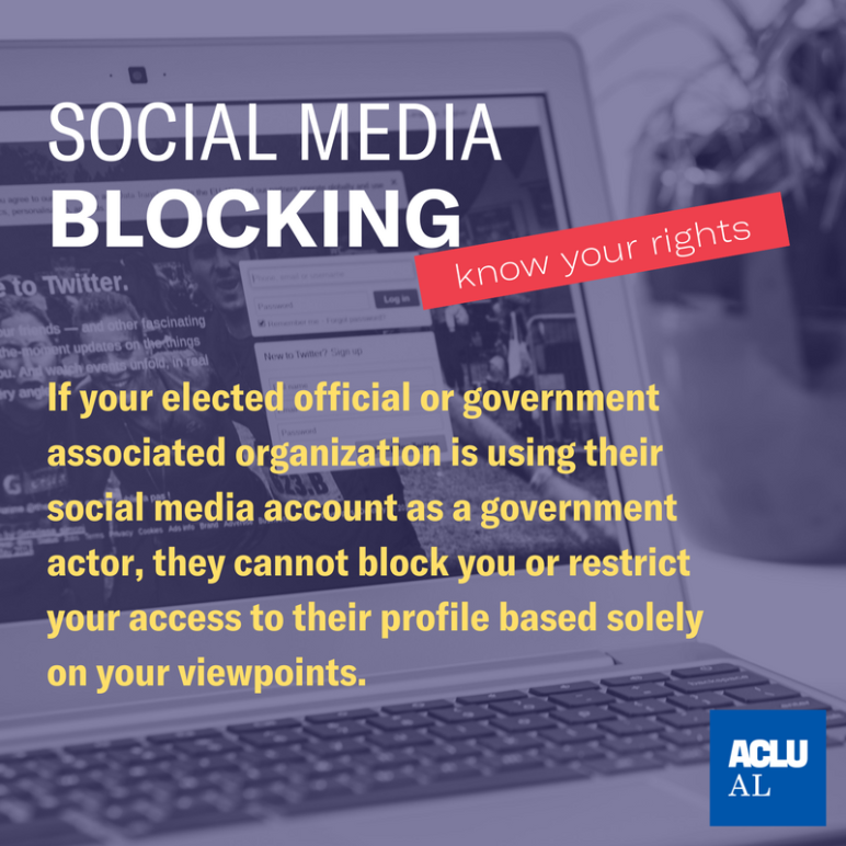 social media blocking infographic
