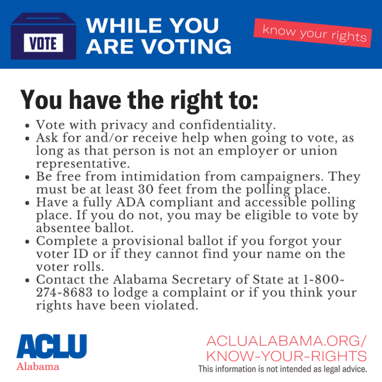 while you are voting graphic