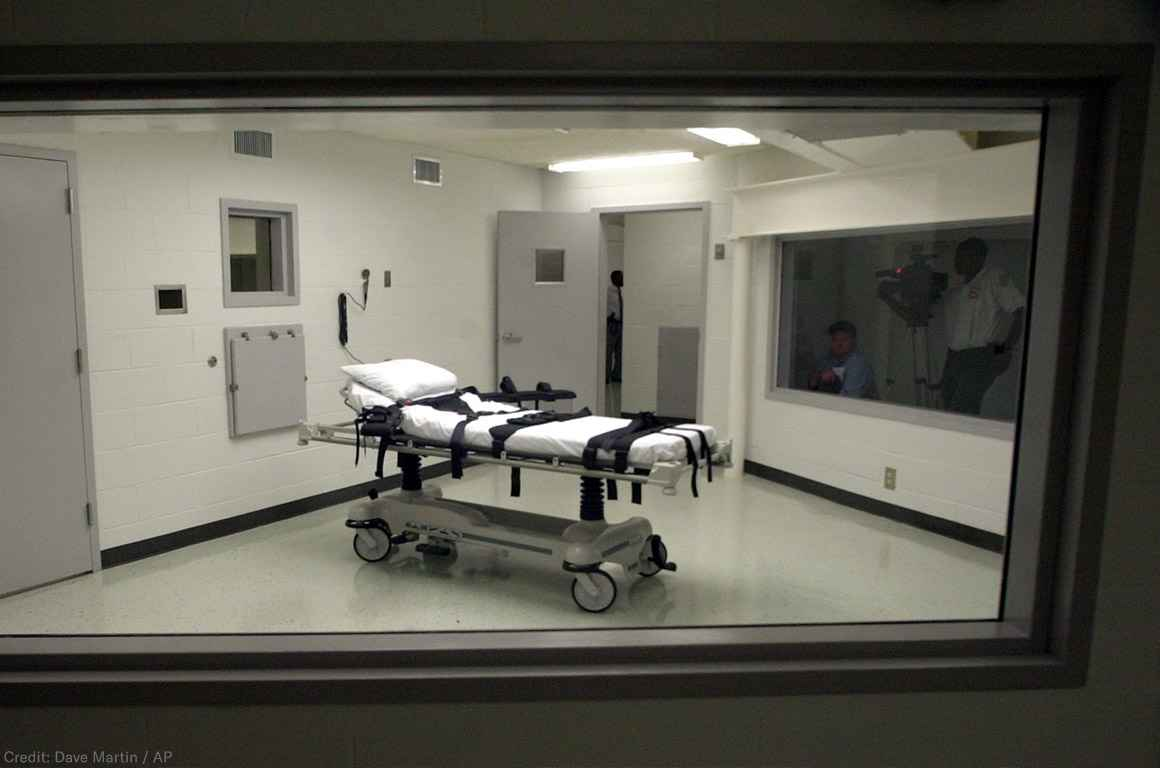 Death Chamber in Alabama