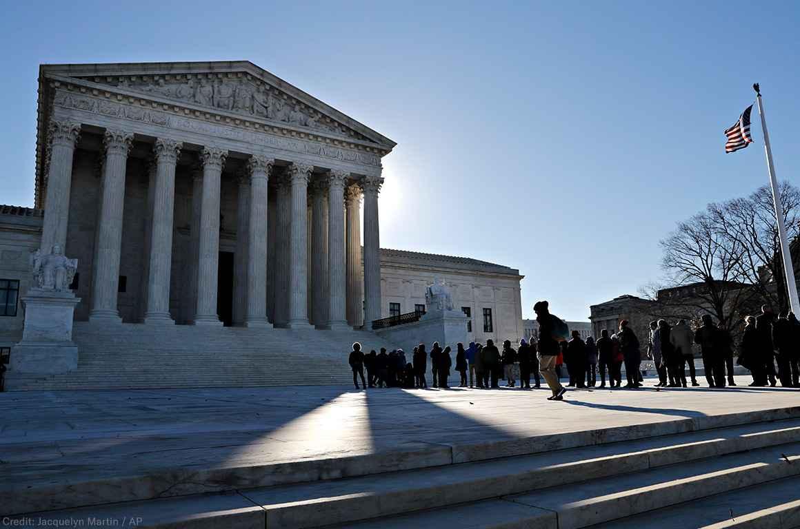 Supreme Court in the Winter