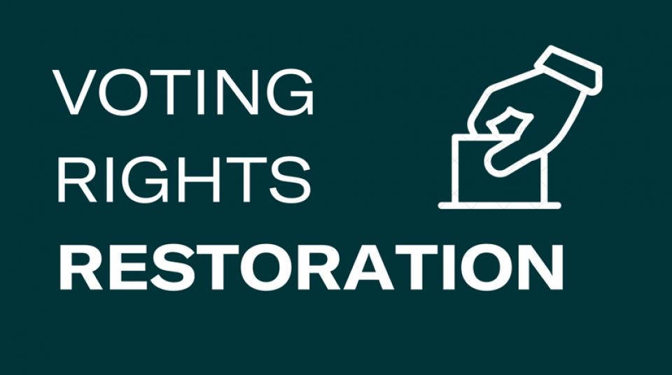 Voting Rights Restoration Aclu Of Alabama