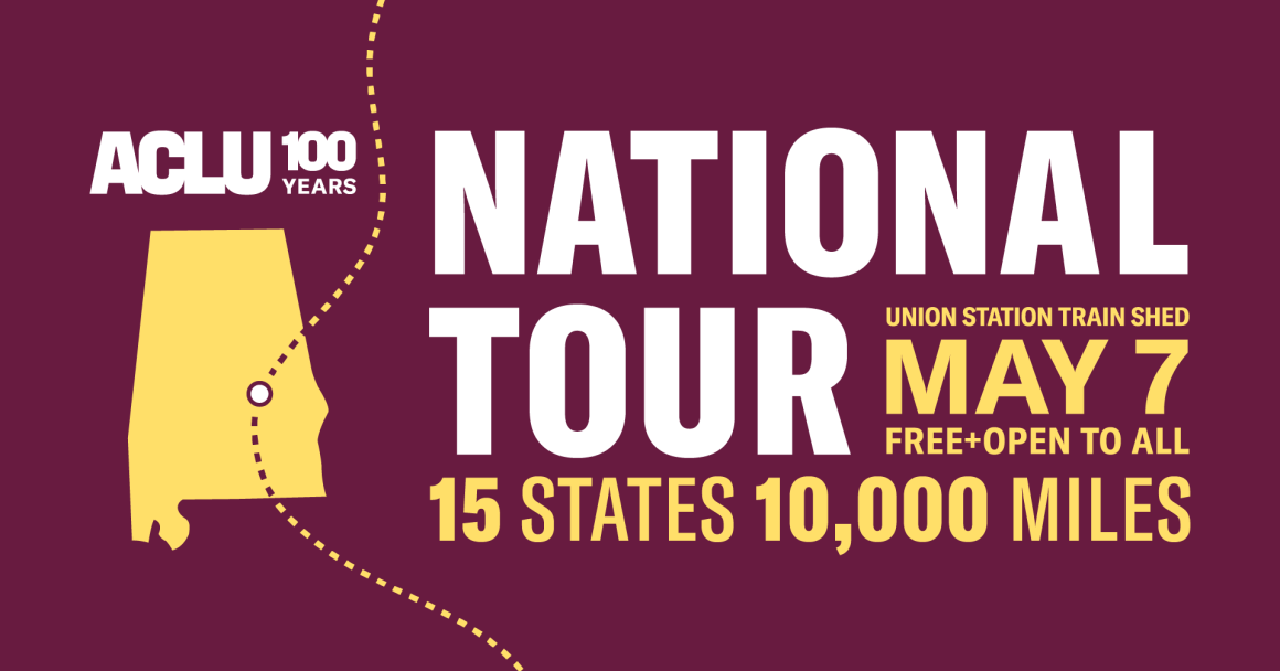 national tour alabama graphic